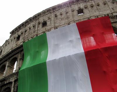 coliseo_bandera_Italia